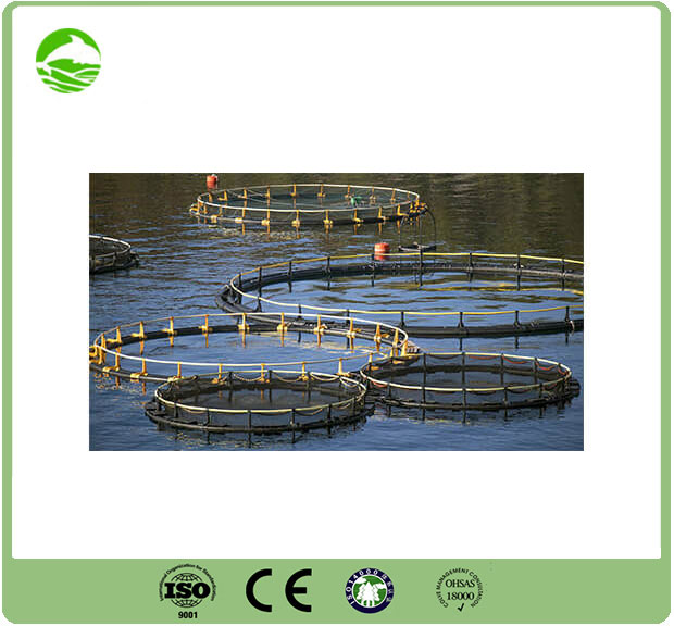 HDPE pipes for aquaculture and fish farming networks pipeline