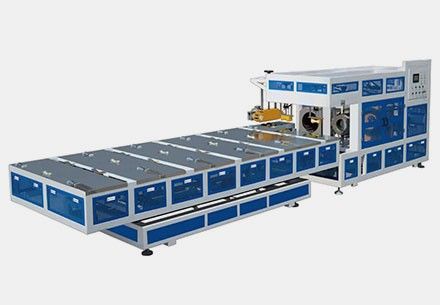 Fully Automatic HDPE Pipe Belling Machine
