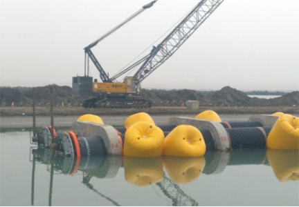 Application of JUNNUO HDPE tube in ocean