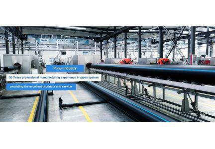 HDPE pipe energy-saving high-speed extrusion production line