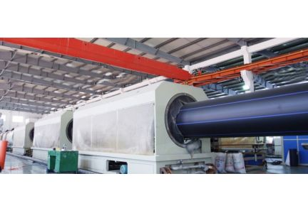 HDPE water supply  energy-saving high-speed extrusion production line